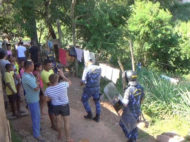 População reclamou de ação truculenta da Guarda De Piracicaba  (Foto: Wesley Justino/EPTV)