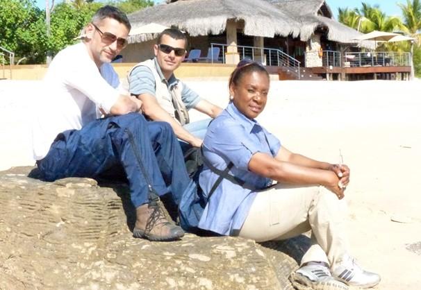 Equipe RPC TV Moçambique (Foto: Arquivo pessoal)