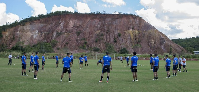 Jogadores do Corinthians, treino no Recife (Foto: Daniel Augusto Jr/ Ag.Corinthians)
