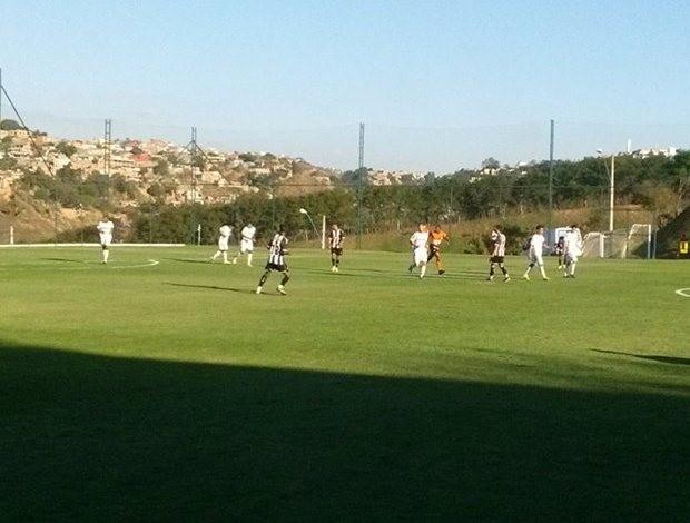 partida entre Atlético-MG 2X1 Araxá pelo Campeonato Mineiro Junior (Foto: Reprodução)
