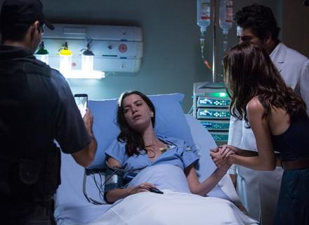 No leito de morte, Lorena grava depoimento para inocentar Júlia