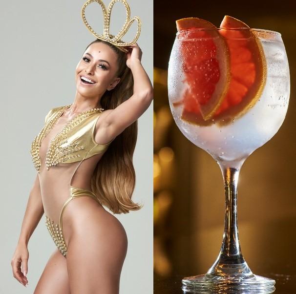 Sabrina Sato de beber: apresentadora dá nome a um martini tônica (Foto: Pedrita Junckes )