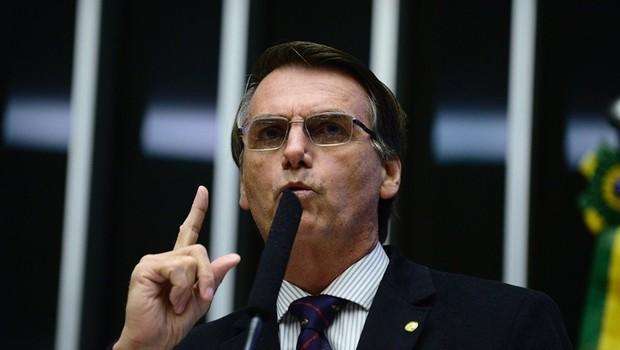 O deputado federal Jair Bolsonaro  (Foto: Nilson Bastian/Agência Câmara)