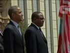 Obama visita a Etiópia e discute segurança
