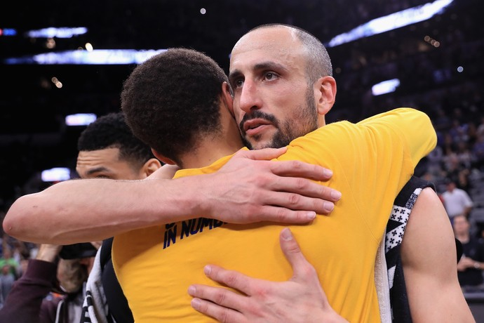 Manu Ginobili NBA San Antonio Spurs Golden State Warriors (Foto: Ronald Cortes / Getty Image)