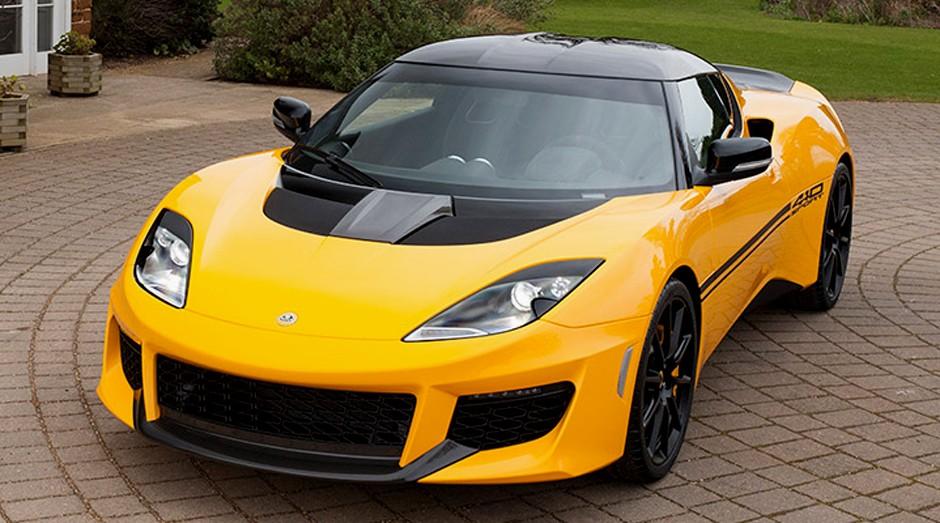 Carro da Lotus. Chinês tem interesse na montadora britânica (Foto: Divulgação)