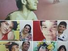 Artista de MS presenteia com rostos pintados em telas e emociona família