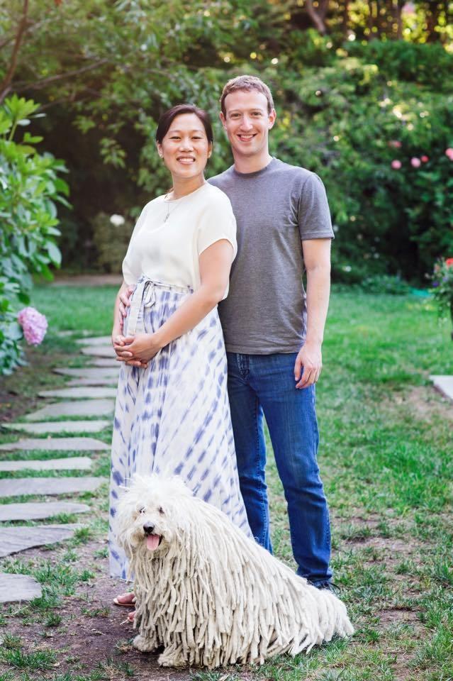 A família de Mark Zuckerberg - com Beast (Foto: reprodução)
