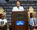 "De la Hoya ""esquece"" rivalidade e quer comprar os Clippers com Mayweather"