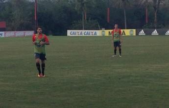 Com Donatti na 1ª etapa e Damião na outra, Fla bate Bangu em jogo-treino