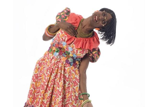 Dona Edith, interpretada por Luís Miranda (Foto: Divulgação)