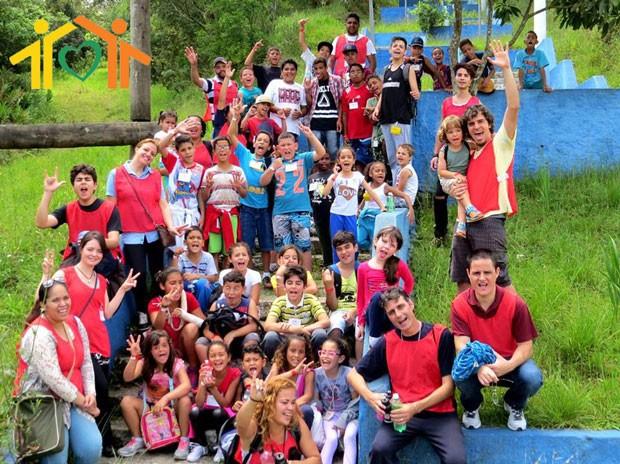 Crianças do Lebem (Foto: divulgação)