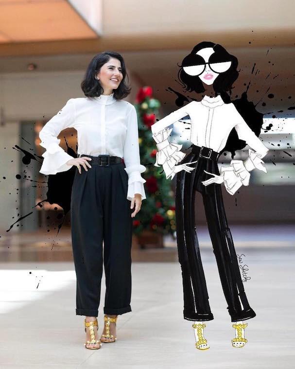 Para Alice, a moda se adapta a você e não o contrário (Foto: Reprodução Instagram)