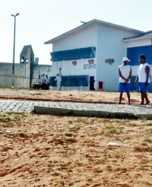 Presos foram mortos no pavilhão 1  (Foto: PM/Divulgação)