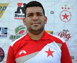 Ofleiby Oliveira (Tidal), preparador de goleiros (Foto: Duaine Rodrigues)