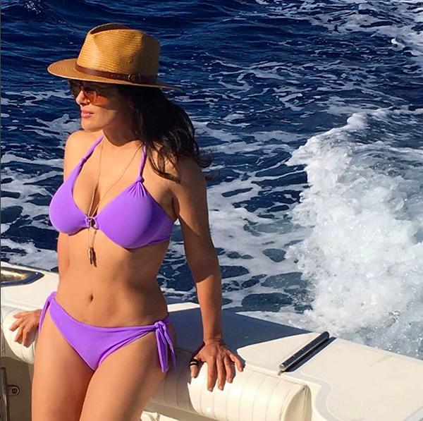 A atriz mexicana Salma Hayek (Foto: Instagram)