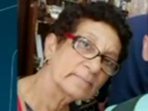 Vanilda Santana Moura, de 62 anos (Foto: Reprodução/TV Globo)