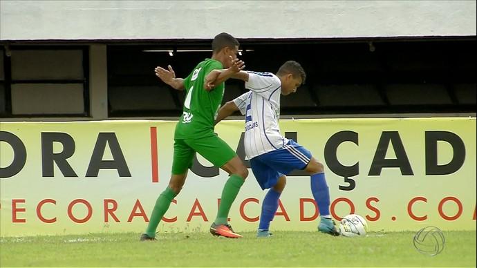 Novo e Costa Rica no Morenão (Foto: Reprodução/TV Morena)