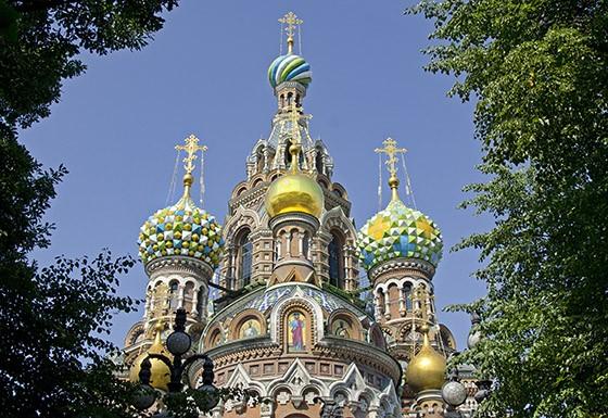 A Igreja da Ressurreição do Salvador sobre o Sangue Derramado quase foi demolida pelo Estado soviético (Foto: © Haroldo Castro/ÉPOCA)