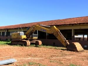 Fraudes ocorriam em licitações de obras de escolas estaduais em Mato Grosso (Foto: Reprodução/TVCA)