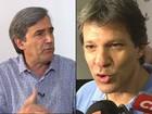 MP entra com ação de improbidade contra Haddad por trote em agenda