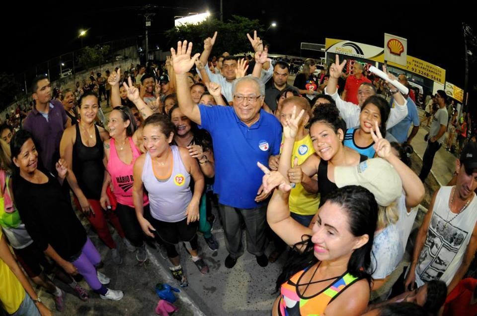Amazonino Mendes vence eleição para governador no Amazonas (Foto: Reprodução)