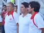 Filho de Jorge Sena, Leandro segue passos do pai no futebol desde cedo