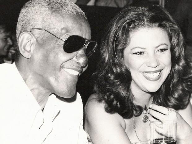 Cartola e Beth Carvalho, parceria fundamental para o samba (Foto: arquivo pessoal)