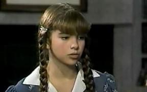 Lucero como 'Chispita', ainda criança (Foto: Reprodução)