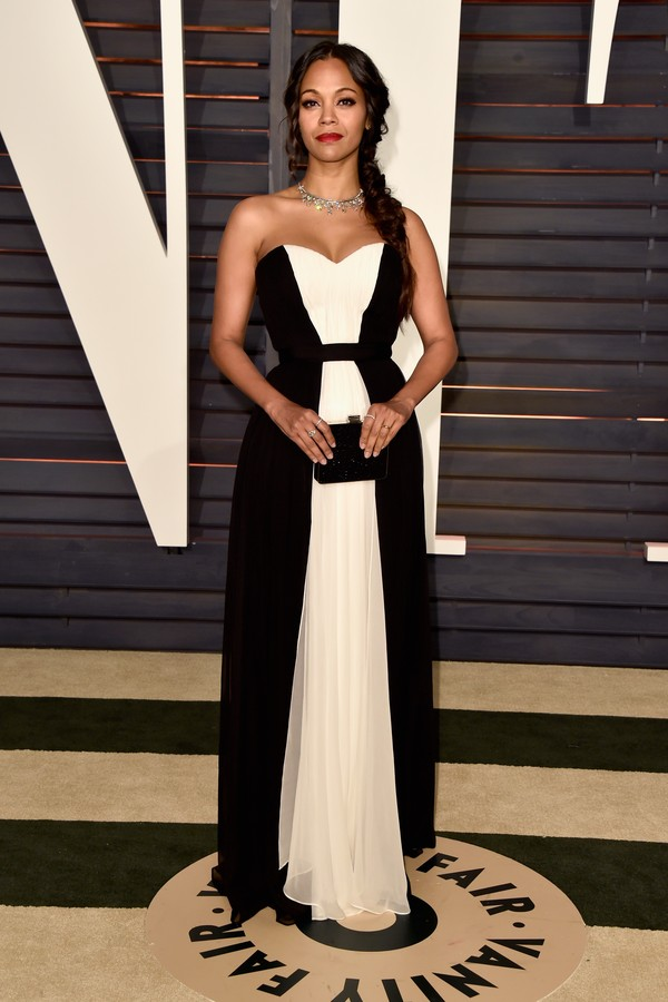 A atriz Zoe Saldana (Foto: Getty Images)