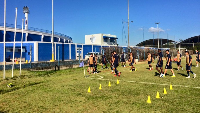 Avaí treinamento (Foto: Leandro Boeira/Avaí FC)