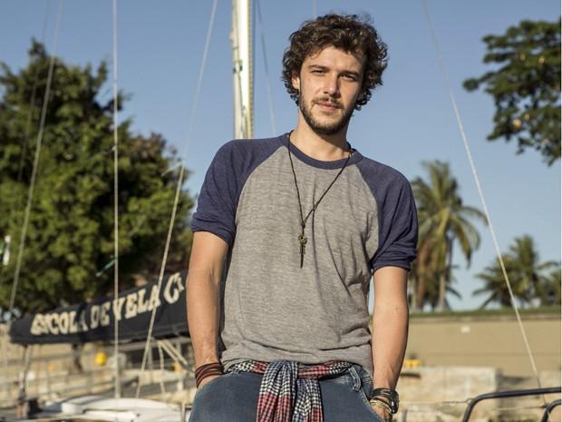 Jayme Matarazzo será o biólogo marinho Pedro, em Sete Vidas (Foto: Inácio Moraes/Gshow)