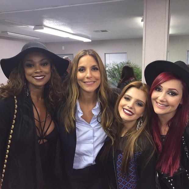 Cris Vianna, Ivete Sangalo, Giovanna Lancellotti e Josie Pessôa (Foto: Reprodução/Instagram)