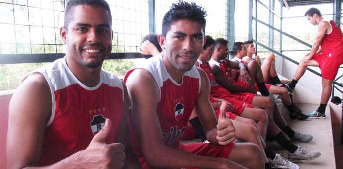 Bruno Chocolate e Júnior Chicão (Foto: Josiel Martins )