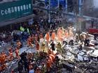Vai a 22 o número de mortos em desabamentos de prédios na China