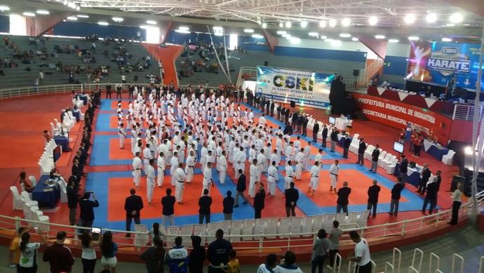 Campeonato Nacional de Karatê (Foto: Nadson Azevedo/ Arquivo pessoal)