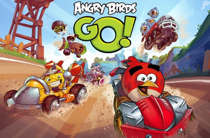 Angry Birds Go! chega para usuários da BlackBerry (Foto: Divulgação/Rovio)