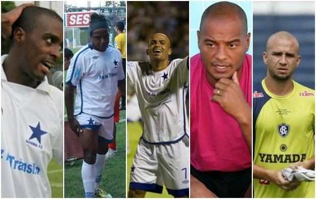 Jogadores do Nacional 2014 (Foto: GLOBOESPORTE.COM)