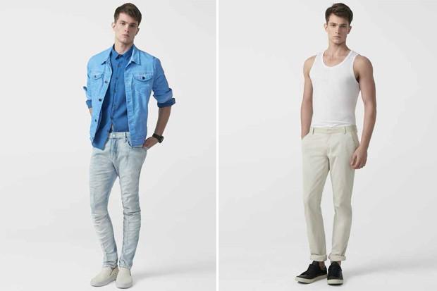 ae0a6287fcb9e Calvin Klein Jeans apresenta coleção Verão 2015 - GQ