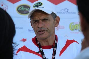 João Carlos Cavalo, técnico do Rio Branco-AC (Foto: João Paulo Maia)