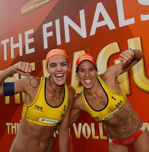 Fernanda Berti e Taiana - vôlei de praia (Foto: FIVB)