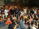 Artistas protestam contra fusão dos ministérios da Cultura e da Educação