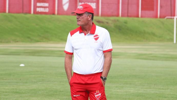 Mazola Júnior - técnico do Vila Nova (Foto: Comunicação / Vila Nova)