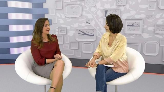 Claudia Matarazzo, jornalista e especialista em etiqueta (Foto: Reprodução/TV Tribuna)