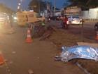 Homem morre atropelado por carro dos Correios em rodovia no Amapá