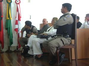 Julgamento teve do caso Asfora teve início na manhã desta quinta-feira (21) (Foto: Taiguara Rangel/G1)