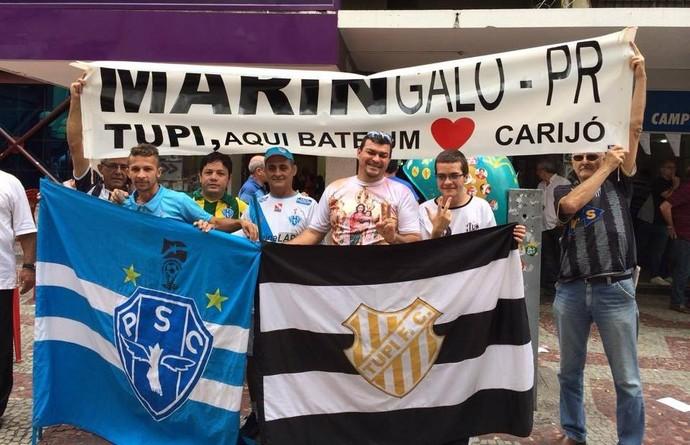 Tupi-MG Paysandu Série C 2014 (Foto: Rafaela Borges)