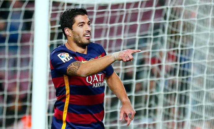 Suarez, Barcelona X Valencia (Foto: Agência AP)
