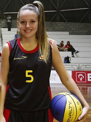 Clarissa Carneiro, basquete de Venceslau, seleção paulista sub-15 (Foto: William Lucas / Inovafoto)
