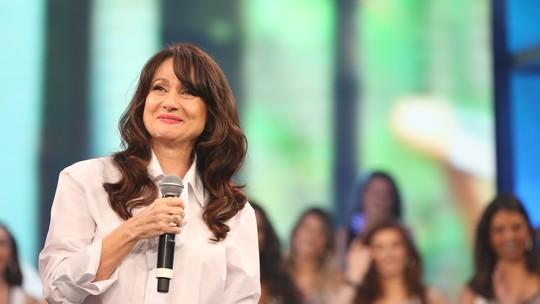 Zezé Polessa se emociona e vai às lágrimas no 'Arquivo Confidencial'